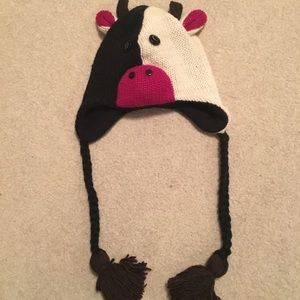 Other - 🐮Fun cute cow hat! NWOT